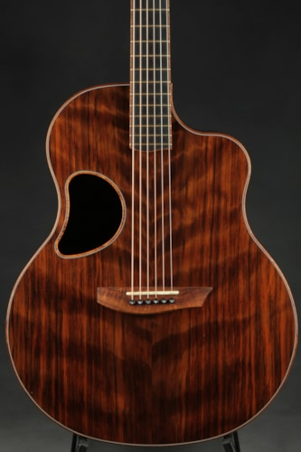 McPherson MG 4.5 Flamed Black Redwood/Wenge Very Good, Hard