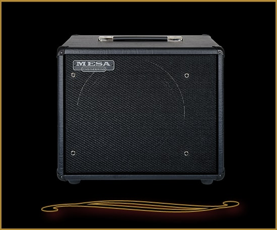 Mesa Boogie 1x12 Front Ported Thiele Cabinet with Celestion Cream Black Taurus, Brand New