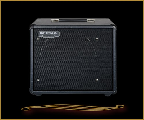 Mesa Boogie 1x12 Front Ported Thiele Cabinet with Fillmore Speaker Black Taurus, Brand New