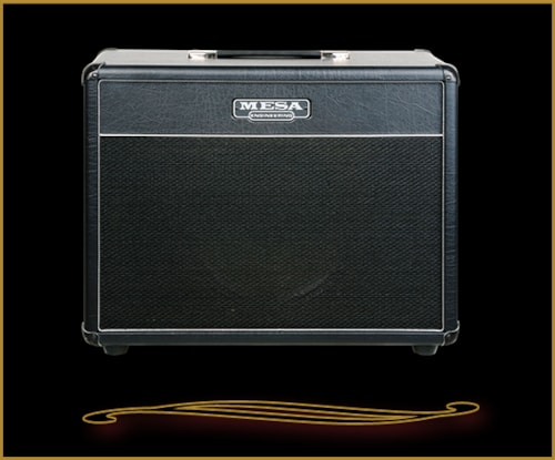 """Mesa Boogie 1x12 Lone Star 23"""" Wide Cabinet with Celestion Creamback Black Taurus, Brand New"""