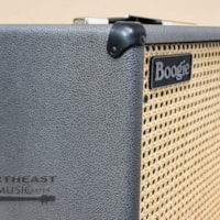 Mesa Boogie 1x12 Thiele Guitar Cab in British Slate Bronco with Wicker Grille