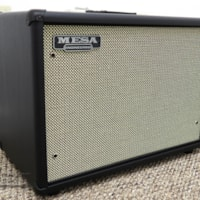 Mesa Boogie 1x12 Widebody Closed Back Cabinet - Black Taurus w/ Cream Black Grille