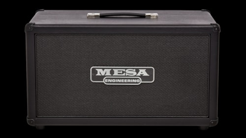 Mesa Boogie 2x12 Rectifier Compact Cabinet Black Taurus, Brand New