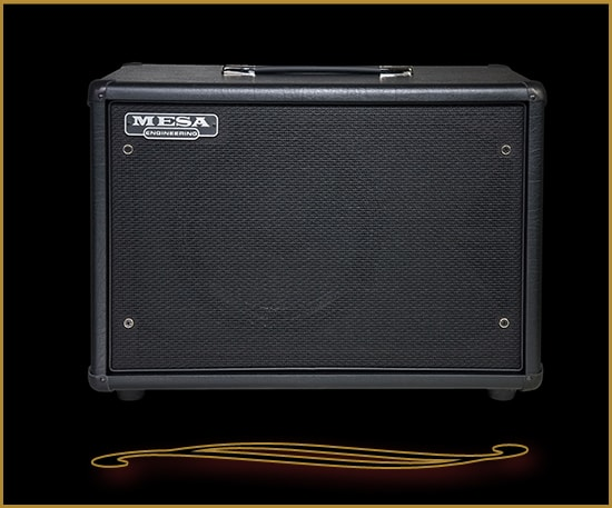 Mesa Boogie Compact 1x12 Widebody Closed Back Cabinet Black Taurus, Brand New, $529.00