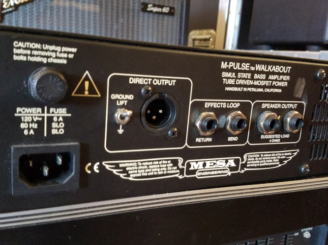 Mesa Boogie M-Pulse Walkabout Bass Amp Head Very Good, $399.00