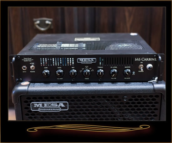 Mesa Boogie M6 Carbine Bass Head Black, Near Mint, $849.00