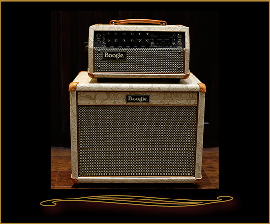 Mesa Boogie Mark Five:25 Head and Lone Star 1x12 Cabinet Champagne Floral, Brand New
