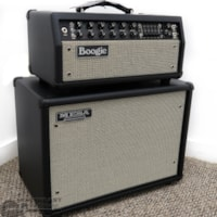 Mesa Boogie Mark V: 35 w/ 1x12 Widebody Closed Back Cabinet - Black Taurus w/ Cream Black Grille