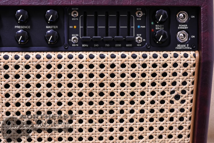 Mesa Boogie Mark V:35 Combo - Wine Taurus, Wicker Grille