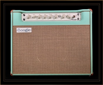 Mesa Boogie Mesa Boogie California Tweed 6V6 4:40 1x12 Combo in Surf Green