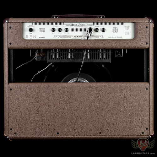 Mesa Boogie California Tweed 1x12 Combo - Coco Bronco, Private Reserve Flame Walnut Front Panel
