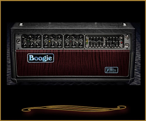 Mesa Boogie Out of production John Petrucci Limited Edition JP-2C Black with Oxblood, Brand New