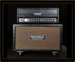 Mesa Boogie Preowned Dual Rectifier Roadster Head and Rectifier 2x12 Cabinet in Black Floral