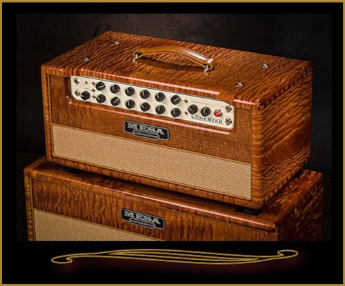 Mesa Boogie Private Reserve Lone Star Head and Matching 2x12 Cabinet Sapele, Brand New