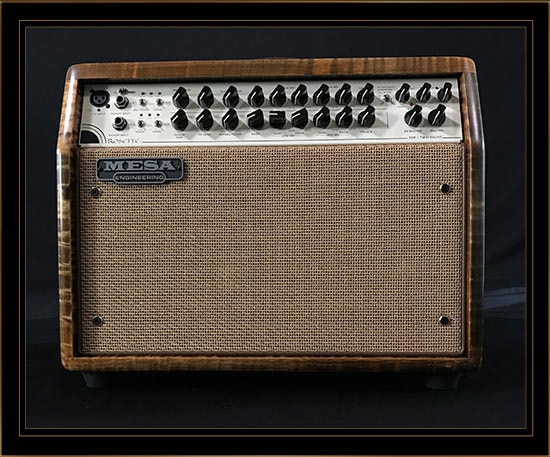 Mesa Boogie Private Reserve Rosette 300 Two:Eight Acoustic Combo Claro Walnut, Brand New