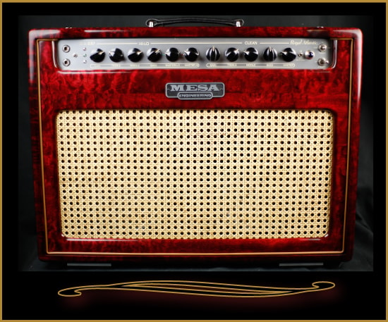 Mesa Boogie Private Reserve Royal Atlantic 2x12 Combo Burgundy Stain, Brand New, $2,299.00