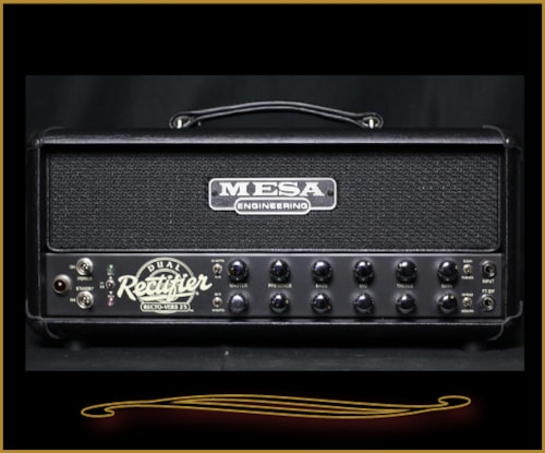 Mesa Boogie Recto-Verb 25 Head Black with Black Grille, Brand New