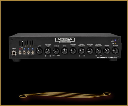 Mesa Boogie Subway D-800+ Compact Bass Head Brand New