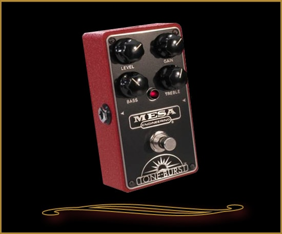 Mesa Boogie Tone-Burst Boost/Overdrive Pedal Brand New, $179.00