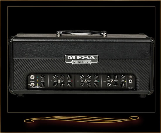 Mesa Boogie Triple Crown TC-50 Head Black, Brand New