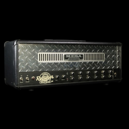 Mesa Boogie Used Mesa Boogie Single Rectifier Amplifiier Head Black Excellent, $899.00