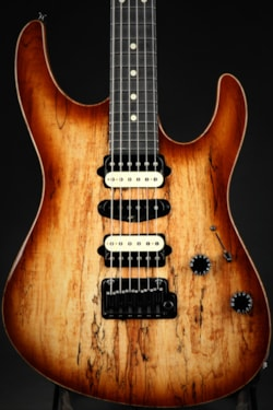 2018 Suhr Modern - Spalted Maple Body/Brown Burst
