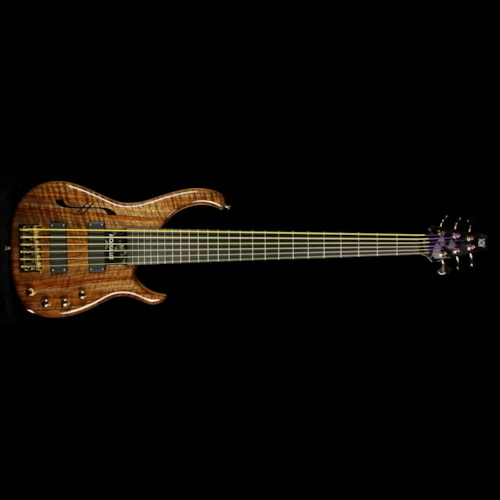 Modulus Used 2006 Modulus Q6 6-String Semi-Hollow Electric Bass Walnut Walnut, Excellent, $2,899.00