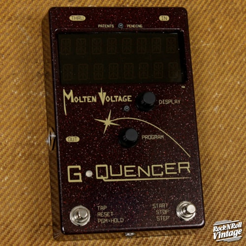 Molten Voltage G-Quencer Brand New $349.00