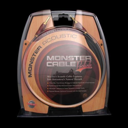 Monster Acoustic Instrument Cable (12 Foot) Brand New, $79.95