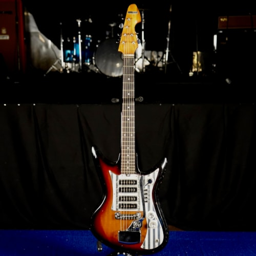 Montgomery Ward Airline branded Teisco ET-460K4L