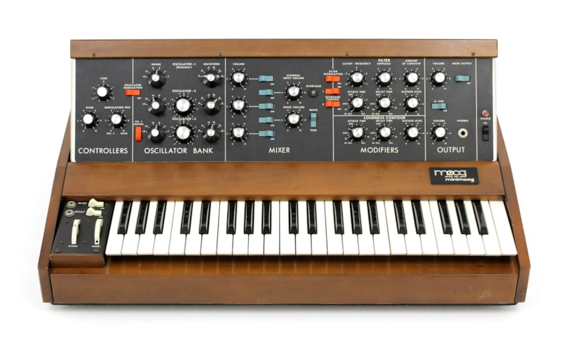 Moog Music Mini Model D #9628 Brand New