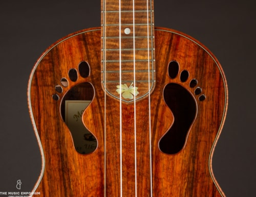 "Moore Bettah ""How'z It, Brah?"" Ukulele (USED) Natural/Blonde"