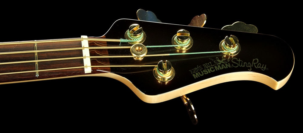 Music Man 2008 Ernie Ball Music Man Limited Edition Stingray Bass Sequoia Gold Excellent, $2,499.00