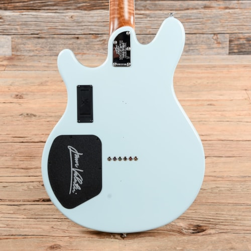 Music Man BFR Valentine Baby Blue w/Painted Headstock USED