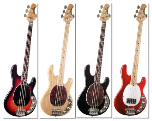 music man stingray bass lots of colors guitars bass imperial guitar soundworks. Black Bedroom Furniture Sets. Home Design Ideas