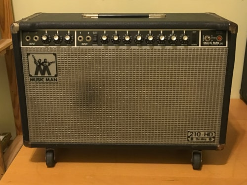 ~1978 Musicman 210-HD 130 Amp Black