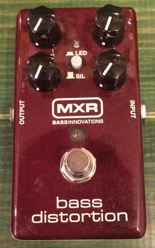 MXR BASS DISTORTION M85 Excellent