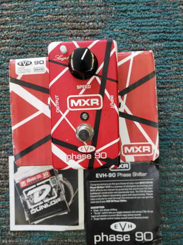 MXR EVH Phase 90 Red/ White/Black
