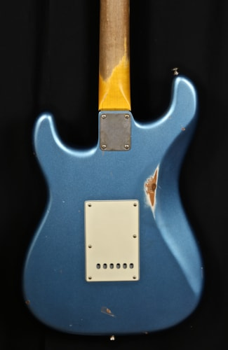 Nash Guitars S63 (1963 Reissue) Ice Blue Metallic, Brand New, Original Hard