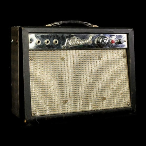 National 1210 Combo Electric Guitar Amplifier 1960s Excellent