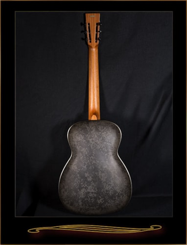 National Reso-Phonic NRP B Series 14 Fret Resonator Black Rust, Brand New, Original Hard, $2,635.00
