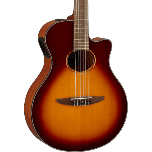 New! 2020 Yamaha NTX1 BS Brown Sunburst Classical Guitar  *Free Shipping in the USA