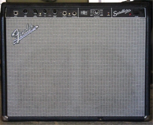 New Old Stock Fender Satellite - Powered Effects Extension Cab 80 Watts