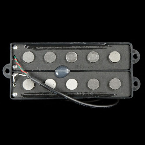 Nordstrand MM5.2 Dual Coil Wide-Spacing 5-String Electric Bass Pickup Black