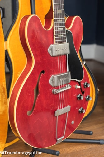 One Owner 1963 Gibson ES-330TDC Cherry