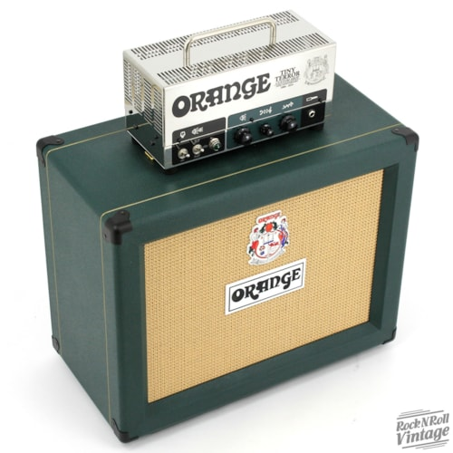Orange 10th Anniversary Tiny Terror Limited Edition Half Stack Brand New $2,399.00
