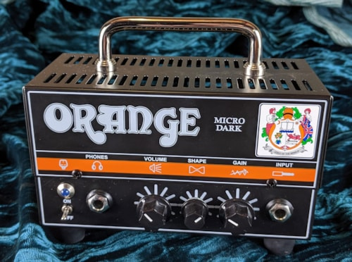 Orange Micro Dark 20 Hybrid head