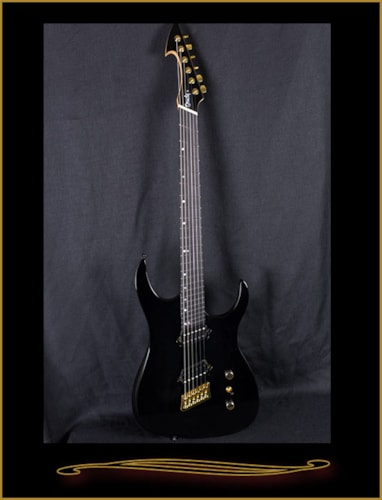 Ormsby HypeGTR 6 String Black with Gold Hardware, Brand New, $1,099.00