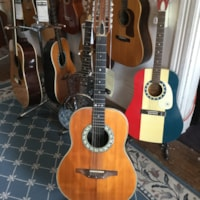 Ovation 12-String Acoustic/Electric Guitar