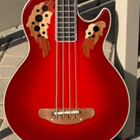 1995 Ovation Viper EA868-CCB 4-String Bass